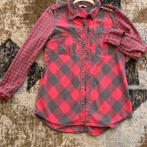 Plaid button up from Buckle